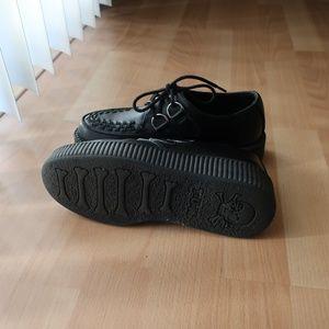 TUK Shoes - TUK Black TUKskin Viva Low Creeper